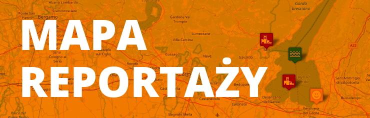 mapa reportaży