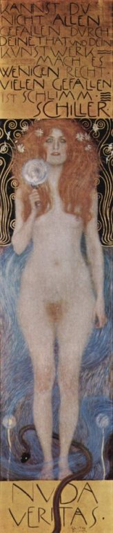 Nuda Veritas - Gustav Klimt