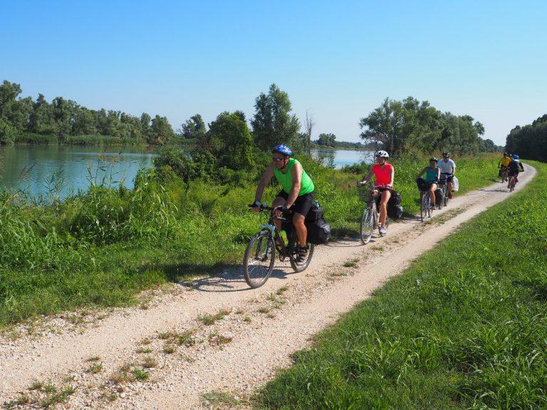 Wycieczka rowerowa wzdłuż Adygi