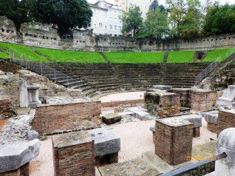 Teatro Romano - Triest, Włochy