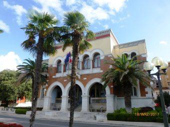 Siedziba zarządu miasta w Porecu, Chorwacja
