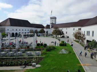 Lublana - zamek