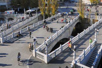 Most Potrójny, , Lublana