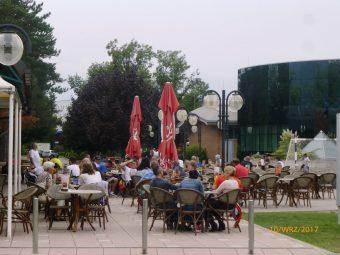 Kawiarna na kempingu Terme Catez