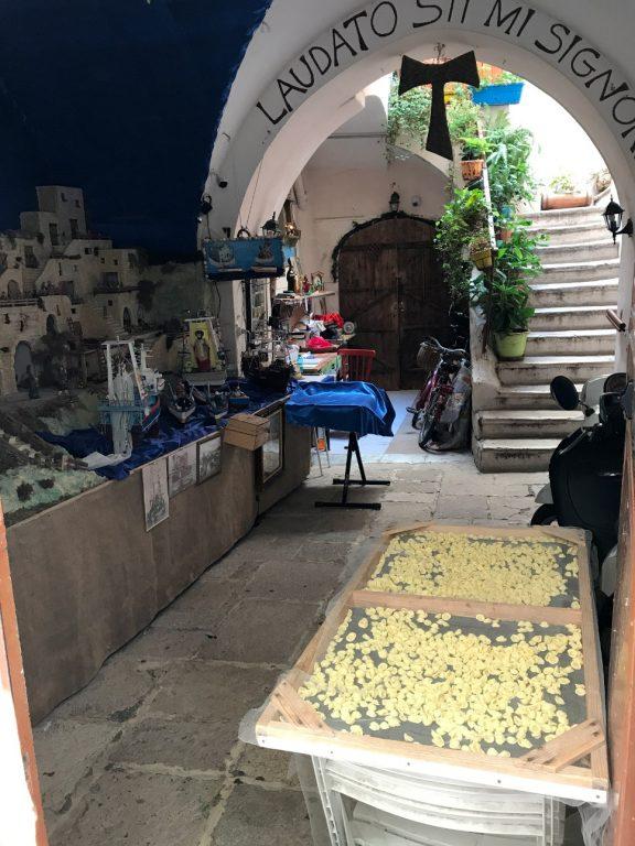 Suszący się makaron - Bari, Apulia