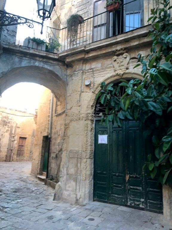 Uliczki w Bari - Apulia, Włochy