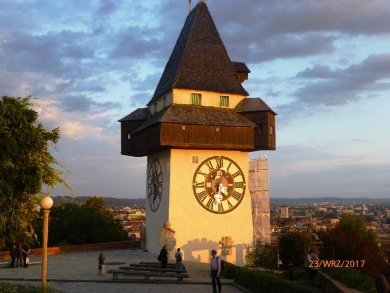 Wieza_zegarowa w Graz, Austria