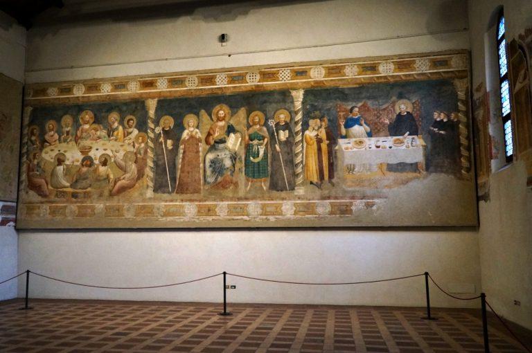 Pomposa - freski w refektarzu