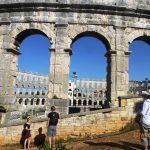Rzymski amfiteatr w Puli, Chorwacja