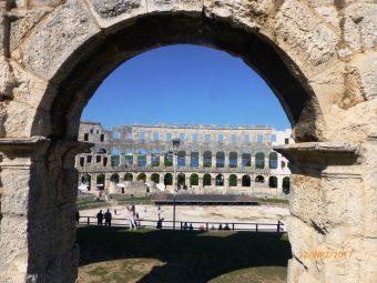Rzymski amfiteatr w Chorwacji, Pula