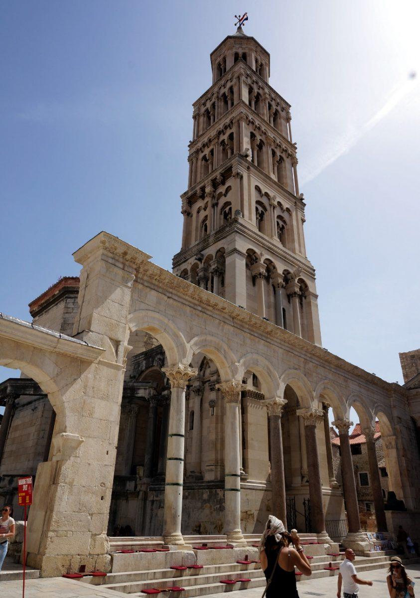 Romańska katedra w Splicie - Chorwacja