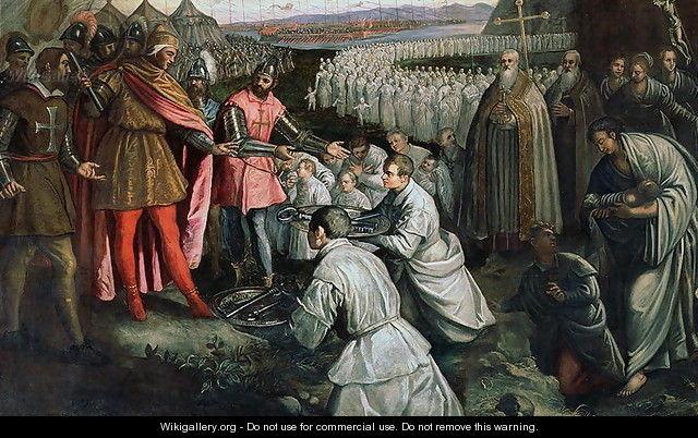 Poddanie Zary, Domenico Tintoretto
