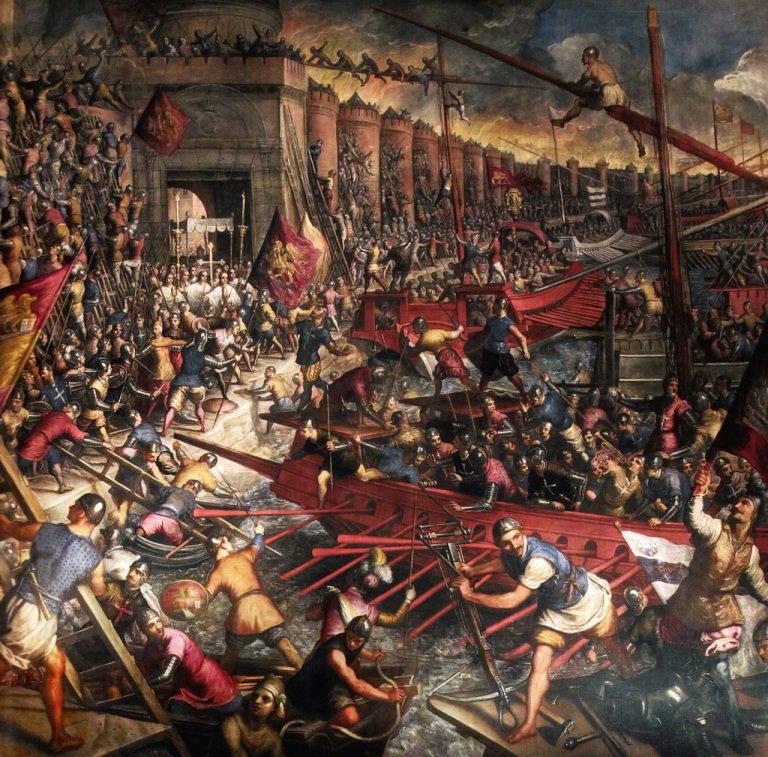 Zdobycie Konstantynopola, Jacopo Tintoretto
