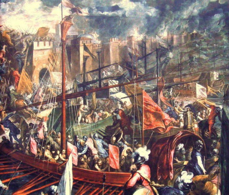 Oblężenie Konstantynopola, Iacopo Nigreti - Palma młodszy