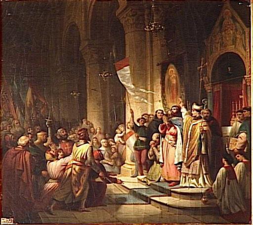 Wybór Bonifacego z Montferratu na wodza IV Krucjaty, Henri Decaisne
