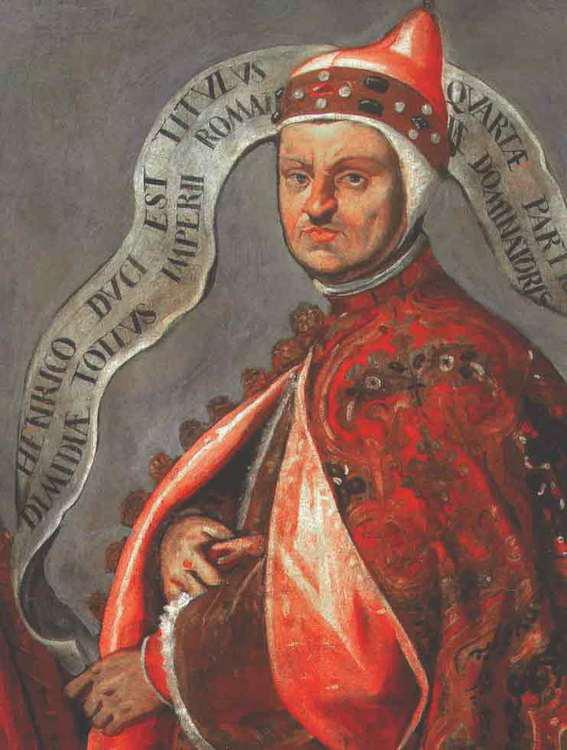 Portret doży Enrico Dandolo, Domenico Tintoretto