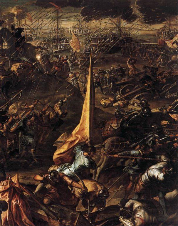 Oblężenie Zary (fragment), Jacopo Tintoretto