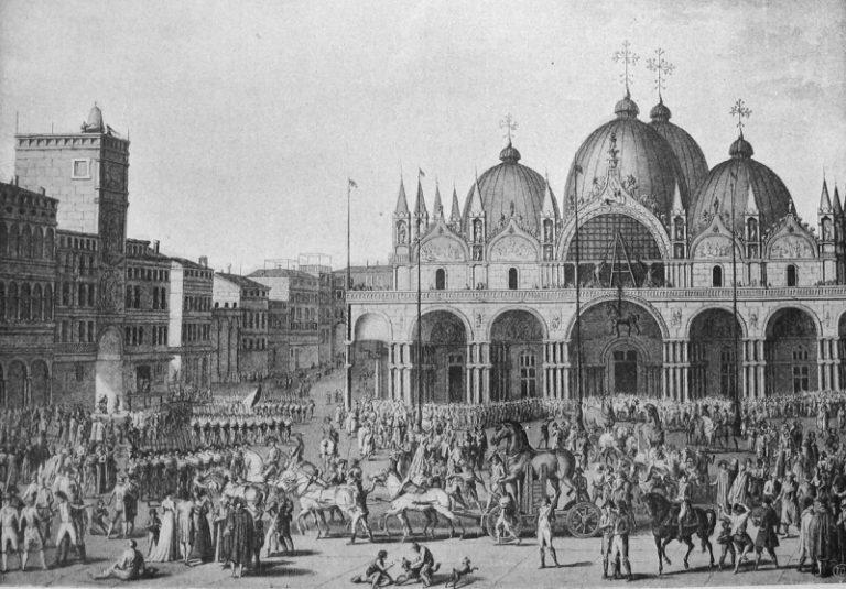 Wejście Francuzów do Wenecji, Jean Duplessis-Bertaux
