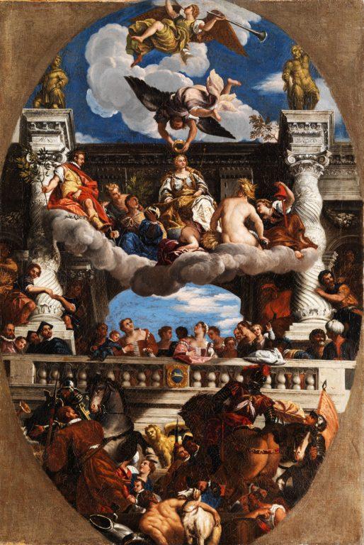 Paolo Veronese - Apoteoza Venecji