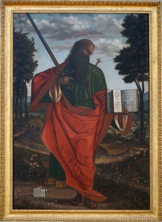 Vittore Carpaccio - San Paolo stigmatizzato - 1520