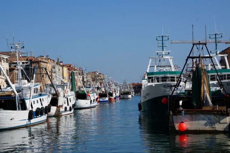 Chioggia - kutry