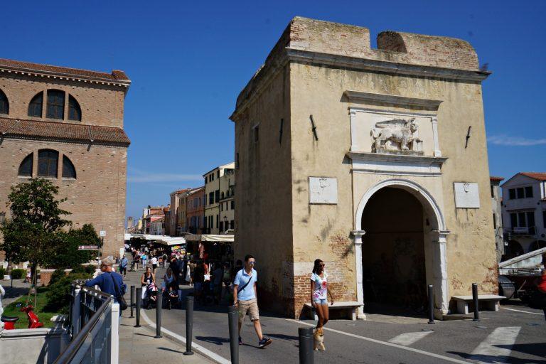 Brama Porta Garibaldi w Chioggi, Włochy