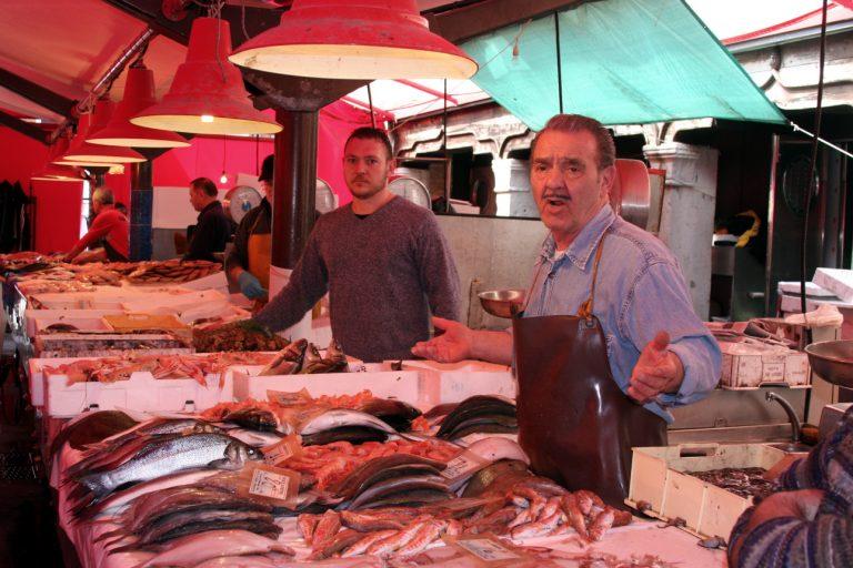 Targ rybny, Chioggia