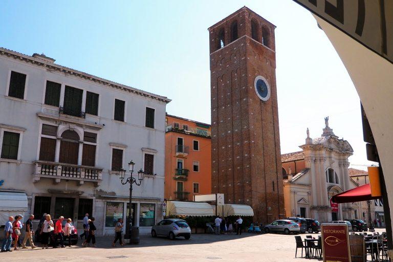Chioggia - wieża zegarowa