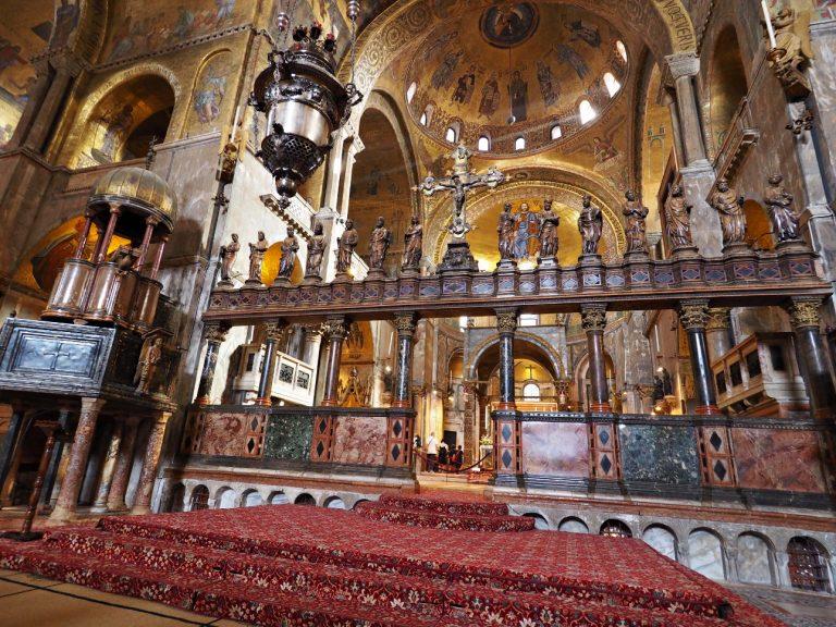 Kolumnada, Bazylika św. Marka, Wenecja