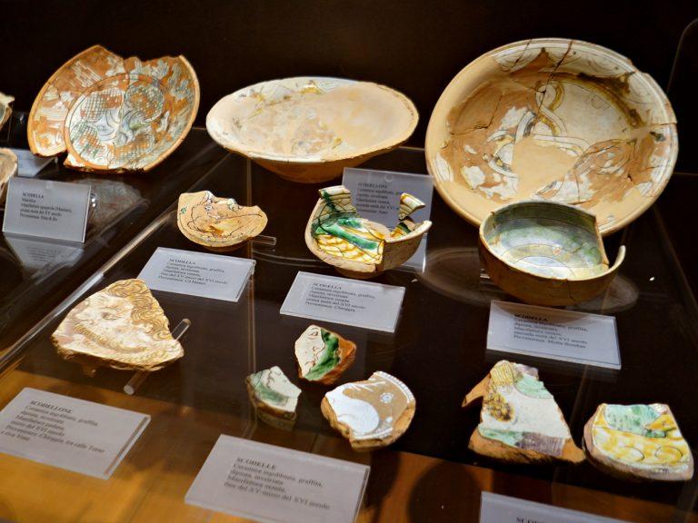 Ceramika znaleziona w Chioggi