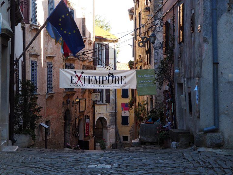 Grožnjan, Istria, Chorwacja