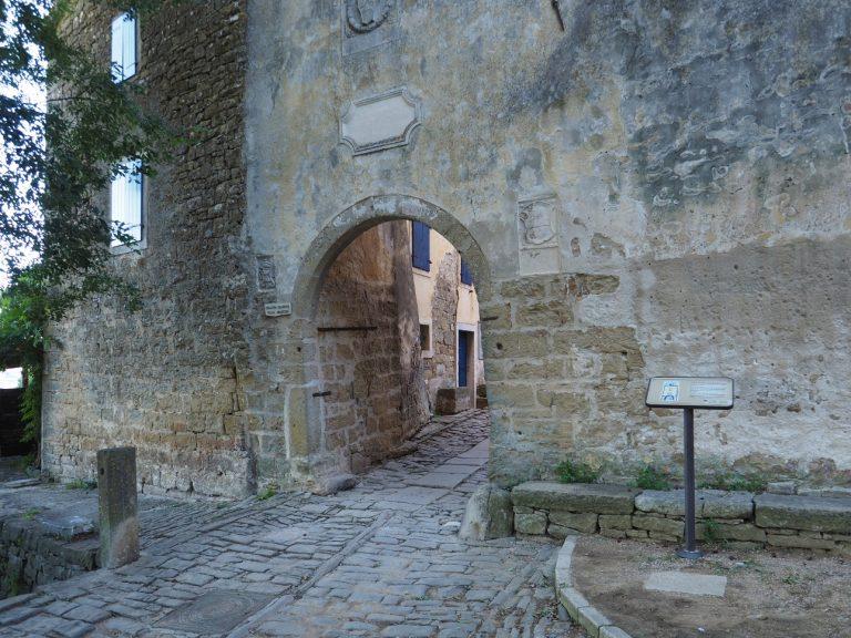 Grožnjan - brama miejska z czasów Republiki Weneckiej