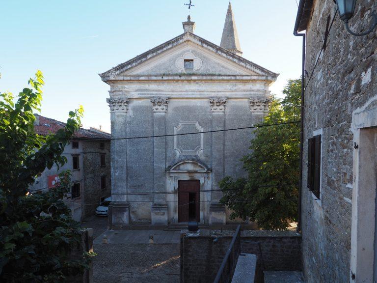 Kościół św. Wita i Modesta w Grožnjan