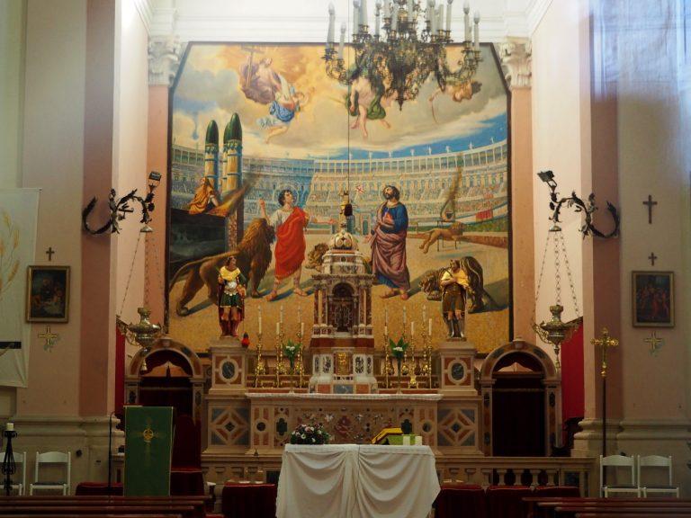Kościół św. Wita i Modesta - wnętrze