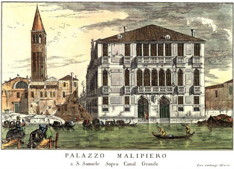 Palazzo Malipiero, Luca Carlevaris