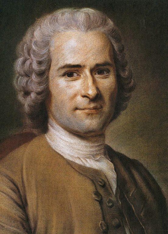 Maurice Quentin de La Tour, Jean Jacques Rousseau