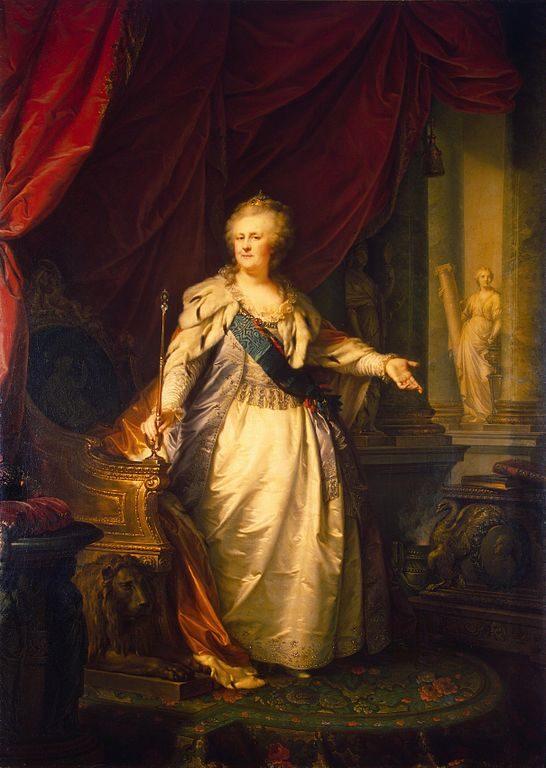 Giovanni Battista Lampi, Caryca Katarzyna II Wielka