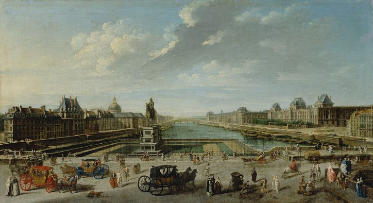 Raguenet, Widok Paryża z Pont Neuf