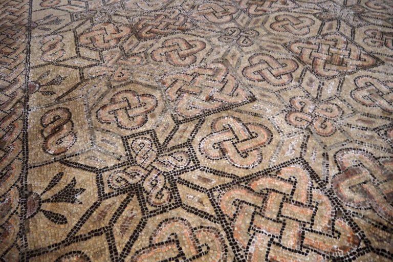 Akwileja - mozaiki w Bazylice Matki Bożej Wniebowziętej #2