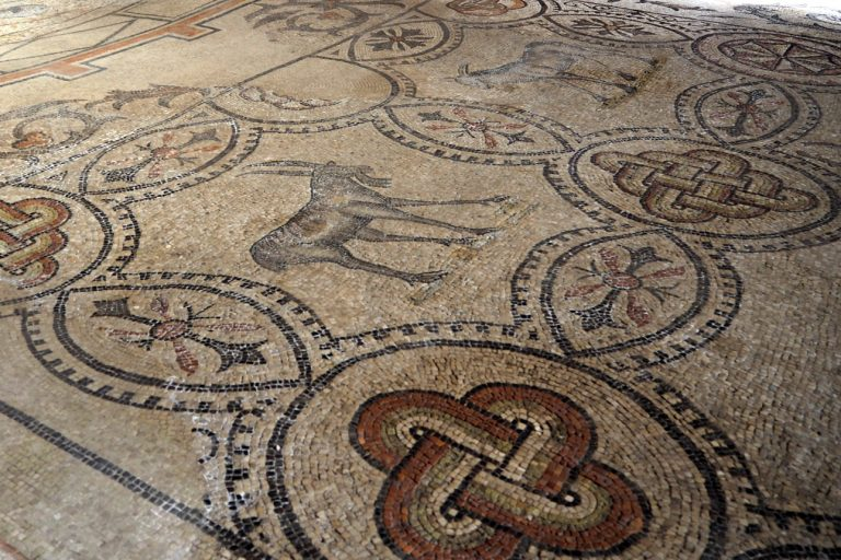 Akwileja - mozaiki w Bazylice Matki Bożej Wniebowziętej#3