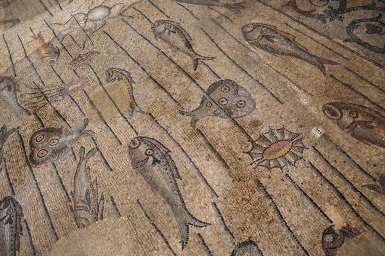 Akwileja - mozaiki w Bazylice Matki Bożej Wniebowziętej #4