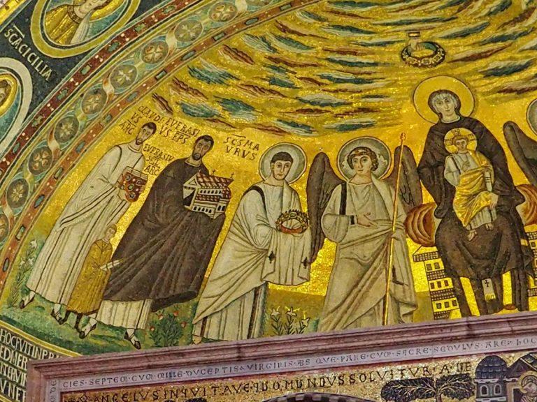 Mozaika w Bazylice Eufrazjusza
