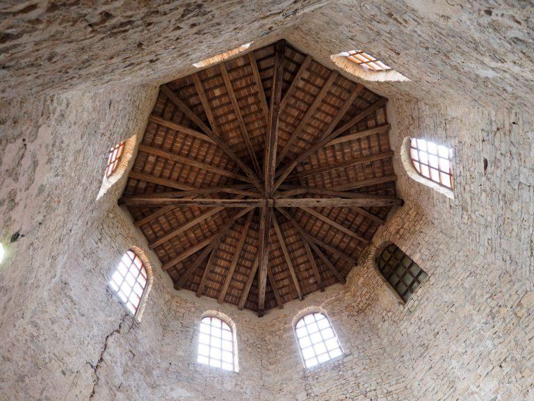 Baptysterium, Bazylika Eufrazjusza w Porecu