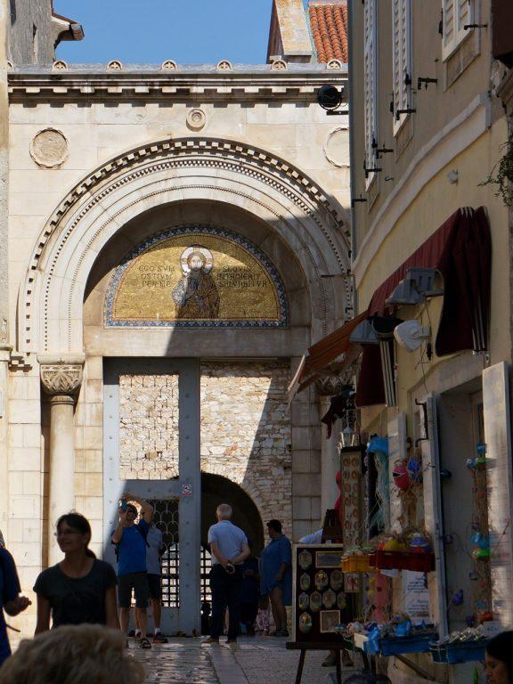 Brama do Bazyliki Eufrazjusza w Porecu