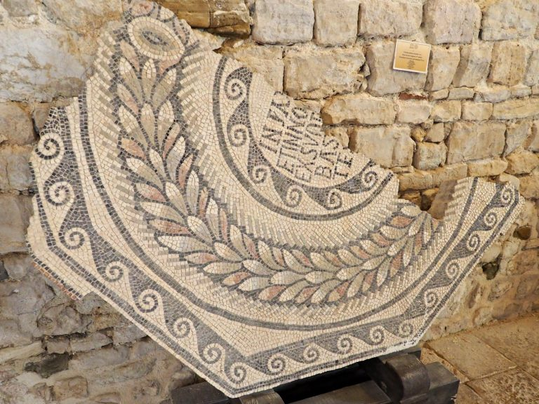 Mozaika, Chorwacja, Porec