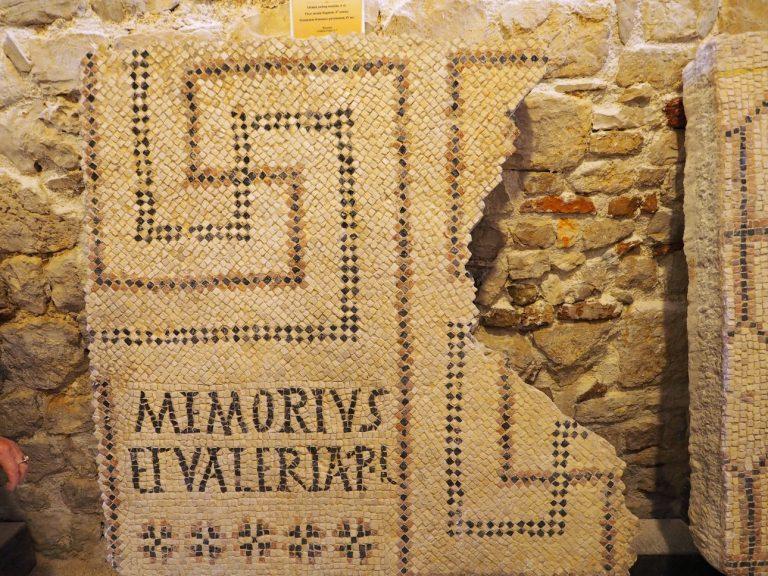 Mozaika - sfastyka, Chorwacja, Porec