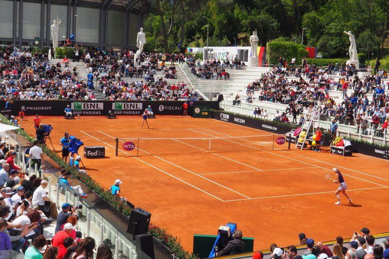 Kort tenisowy, Foro Italico #2