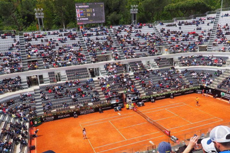 Kort tenisowy, Foro Italico #3