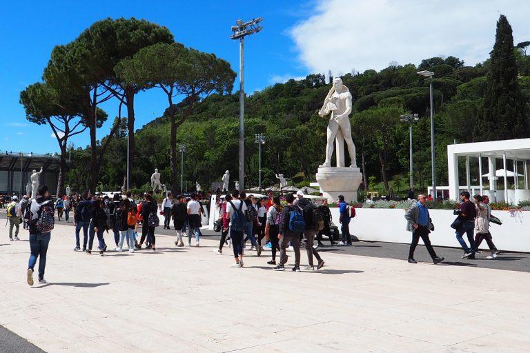 Foro Italico, Rzym #2