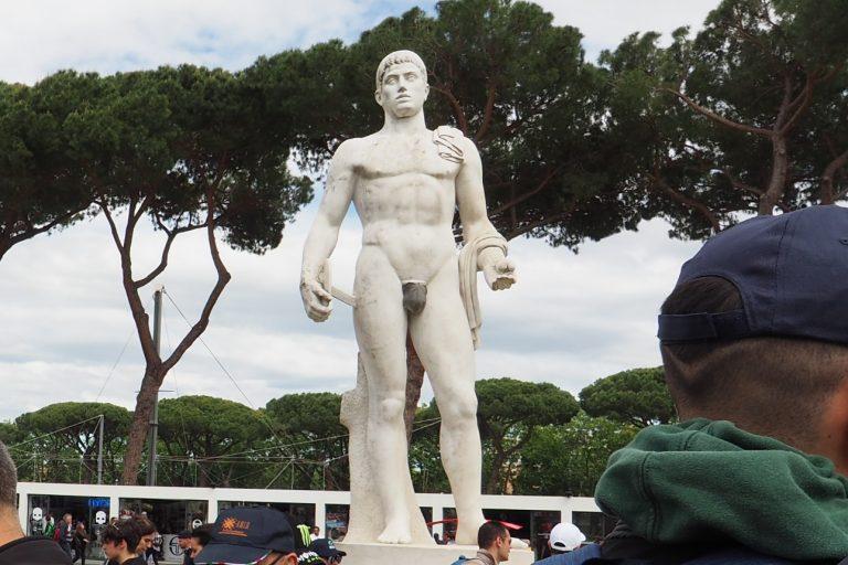 Posąg, Foro Italico #3